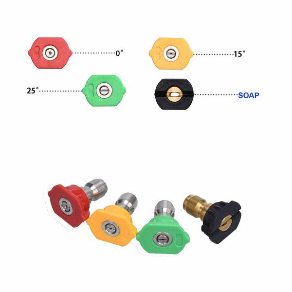 Stanley Replacement QC Nozzles PW4221460
